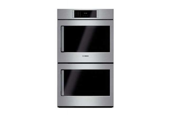 """Large image of Bosch 30"""" Benchmark Series Built-In Stainless Steel Electric Double Wall Oven - HBLP651RUC"""
