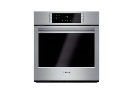 "Bosch 800 Series 27"" Stainless Steel Electric Built-In Single Wall Oven  - HBN8451SS"