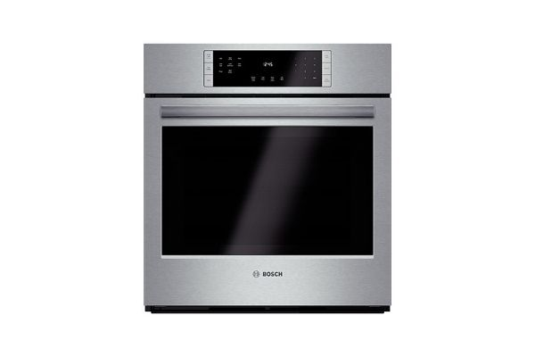 """Bosch 800 Series 27"""" Stainless Steel Electric Built-In Single Wall Oven  - HBN8451SS"""