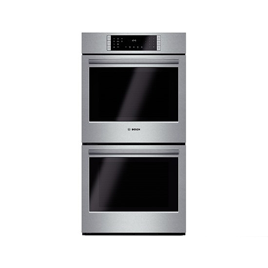 Bosch 27 Electric Built In Double Wall Oven Hbn8651ss