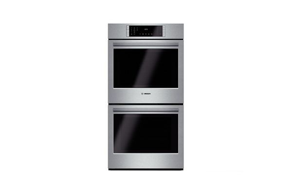 """Bosch 800 Series 27"""" Stainless Steel Electric  Built-In Double Wall Oven  - HBN8651SS"""