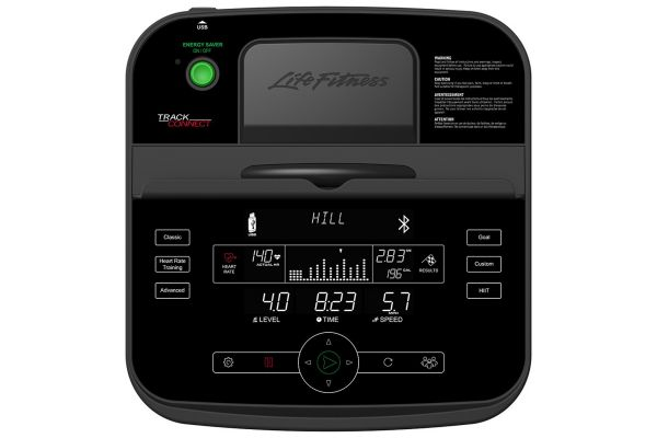 Large image of Life Fitness Bikes & Cross-Trainers Track Connect Console - HC-000X-0105
