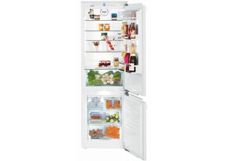 Liebherr White Bottom Freezer Refrigerator - HC-1080