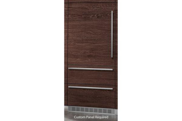"Liebherr 36"" Built-In Panel Ready Bottom Freezer Refrigerator - HC-2081"