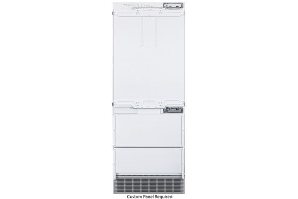 """Large image of Liebherr 30"""" Panel Ready Right-Hinge Built-In Fridge-Freezer With BioFresh And NoFrost - HCB-1580"""