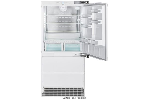 "Large image of Liebherr 36"" Panel Ready Right-Hinge Built-In Fridge-Freezer With BioFresh And NoFrost - HCB-2080"
