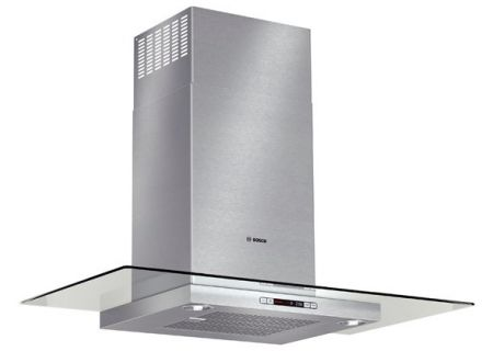 "Bosch 36"" Stainless Steel Benchmark Series Glass Canopy Chimney Wall Hood  - HCG56651UC"