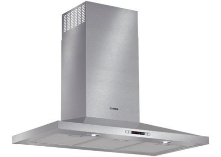 "Bosch 36"" Stainless Steel 300 Series Pyramid Canopy Chimney Wall Hood  - HCP36651UC"