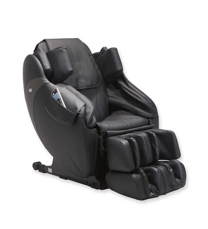 Inada Flex 3s Black Leather Massage Chair HCPS373ABK
