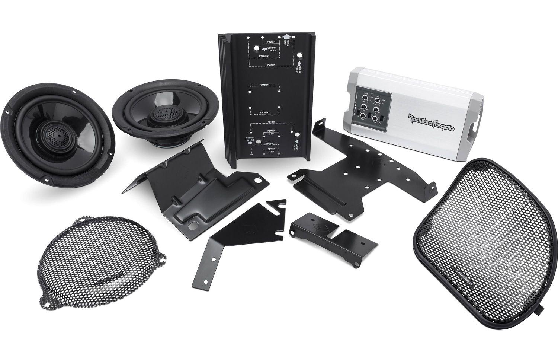 Rockford Fosgate Power Harley-Davidson Audio Kit - HD14-TKIT