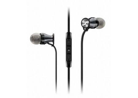 Sennheiser HD 1 Black Chrome In-Ear Headphones - 507406