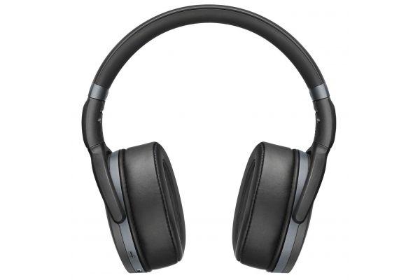 Large image of Sennheiser HD 4.40 BT Black Over-Ear Wireless Headphones - 506782