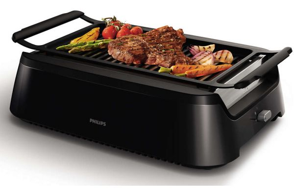 Large image of Philips Avance Collection Indoor Grill - HD637194