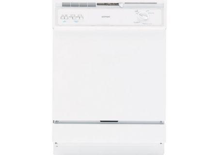 GE Hotpoint Built In Dishwasher - HDA3600RWW