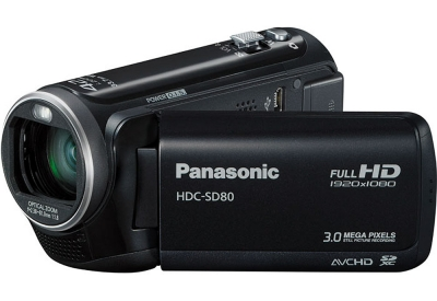 Panasonic - HDC-SD80K - Camcorders & Action Cameras