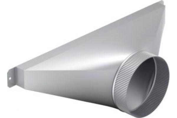 """Large image of Bosch 6"""" Side/ Rear Transition For Downdrafts - HDDSTRAN6"""