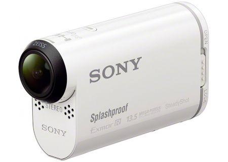 Sony - HDRAS100V/W - Camcorders & Action Cameras