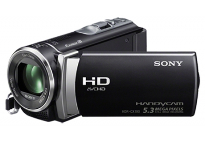 Sony - HDR-CX190/B - Camcorders