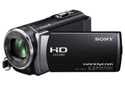 Sony - HDR-CX210/B - Camcorders