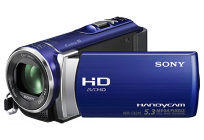 Sony - HDR-CX210/L - Camcorders