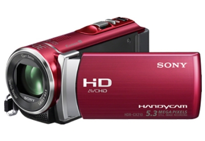 Sony - HDR-CX210/R - Camcorders
