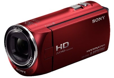 Sony - HDR-CX220/R - Camcorders