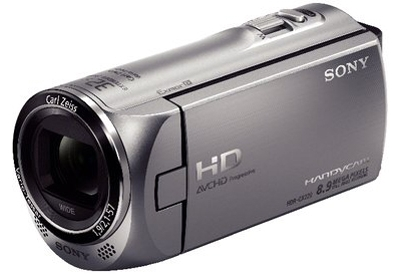 Sony - HDR-CX220/S - Camcorders