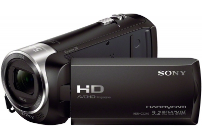Sony - HDR-CX240/B - Camcorders