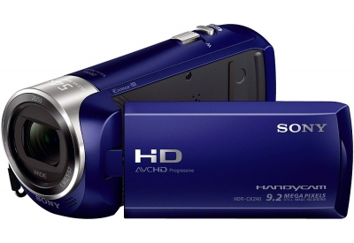 Sony - HDR-CX240/L - Camcorders