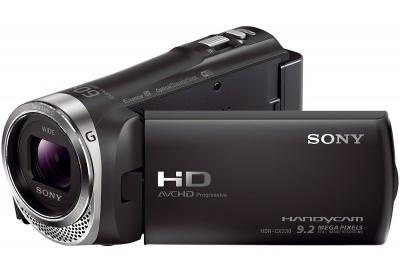 Sony - HDR-CX330/B - Camcorders