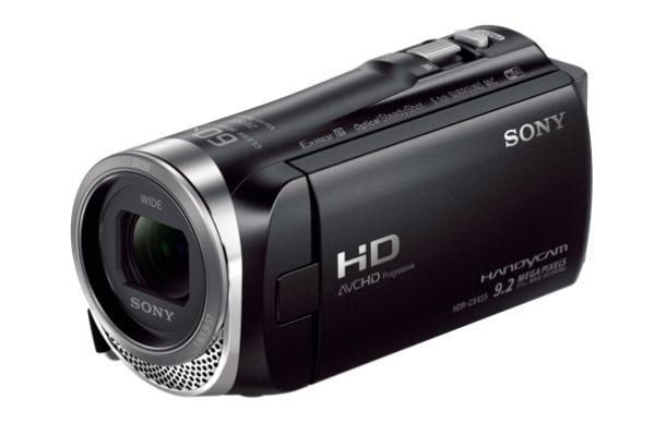 Large image of Sony Black Full HD 8GB Handycam Camcorder  - HDRCX455/B