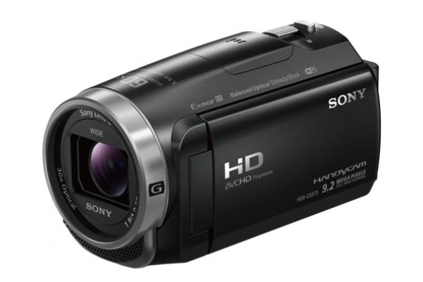 Sony Black Full HD Handycam Camcorder  - HDR-CX675