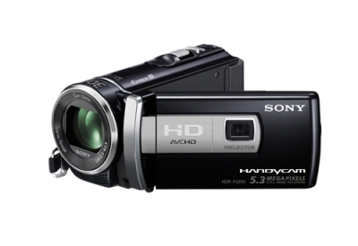 Sony - HDR-PJ200/B - Camcorders