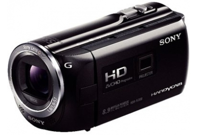 Sony - HDR-PJ380/B - Camcorders
