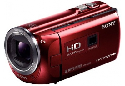 Sony - HDR-P380/R - Camcorders