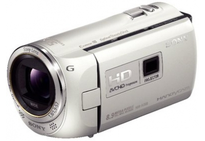 Sony - HDR-PJ380/W - Camcorders