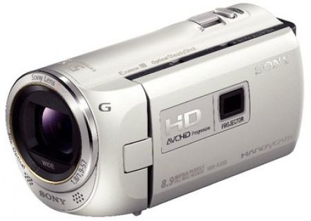 Sony - HDR-PJ380/W - Camcorders & Action Cameras