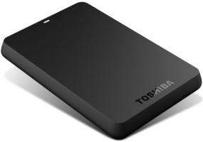 Toshiba - HDTB110XK3BA - External Hard Drives