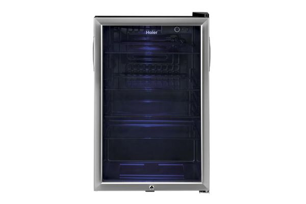 Large image of Haier Stainless Frame Beverage Center - HEBF100BXS