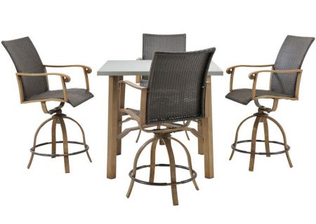 Hanover - HERDN5PC-BAR - Patio Dining Sets
