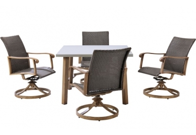 Hanover - HERDN5PC-SQR - Patio Furniture
