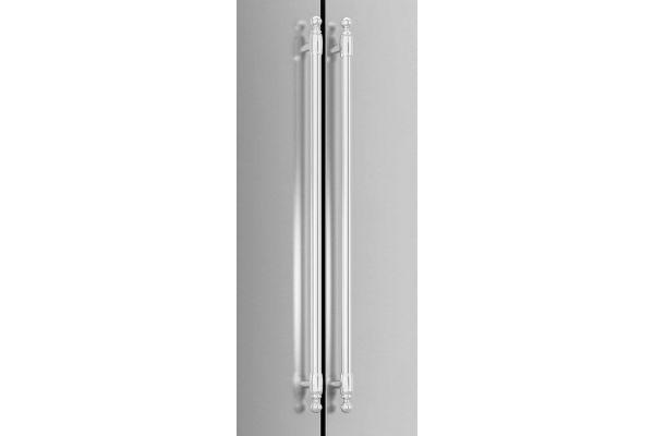 Large image of Bertazzoni Heritage Series Stainless Steel Handle Kit  - HERHK36REF