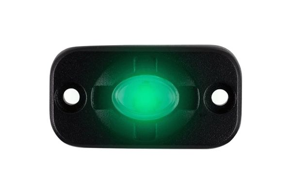 Large image of Metra Green Auxiliary Lighting Pod - HE-TL1G