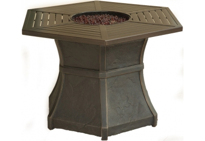 Cambridge - HEX1PCFP - Patio Umbrellas, Fire Pits, & Accessories