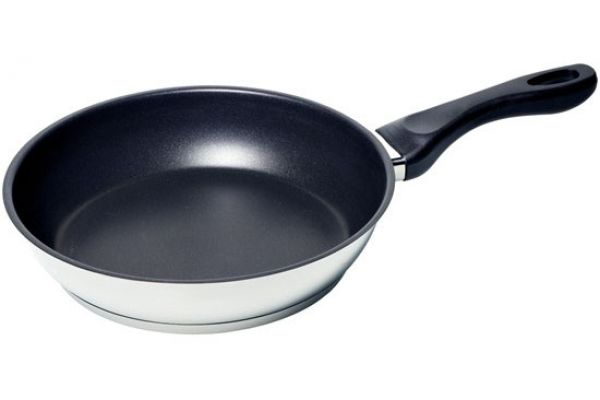 """Large image of Bosch 10"""" Stainless Steel Fry Pan - HEZ390230"""