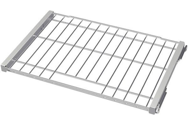 """Large image of Bosch Stainless Steel 30"""" Telescopic Rack - HEZTR301"""