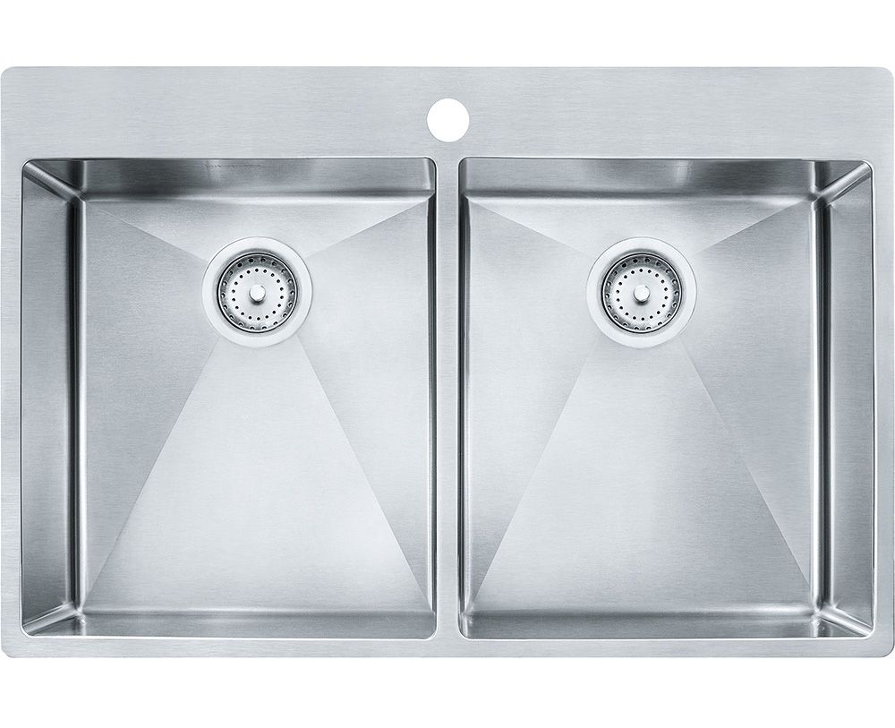 Franke Vector Stainless Steel Double Bowl Kitchen Sink