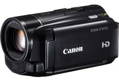 Canon - HF M500 - Camcorders