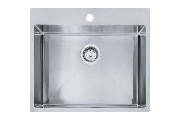 Franke Vector Stainless Steel Single Bowl Kitchen Sink - HFS2522-1