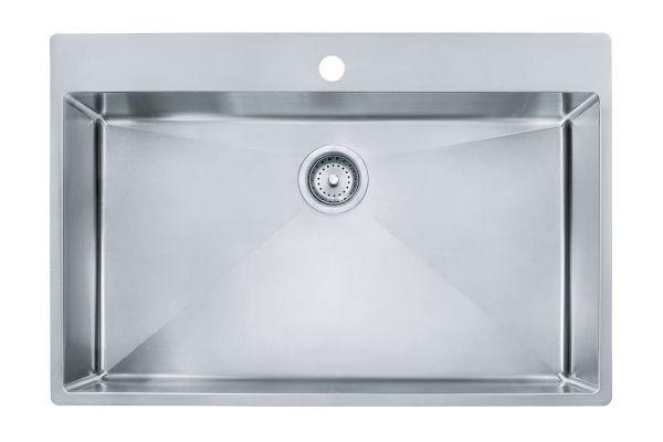 Franke Vector Stainless Steel Single Bowl Kitchen Sink - HFS3322-1